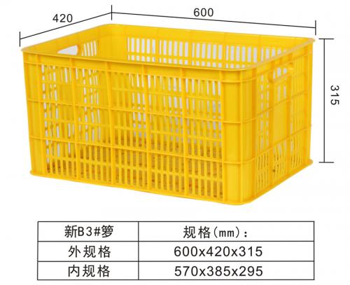 New B3#Turnover basket